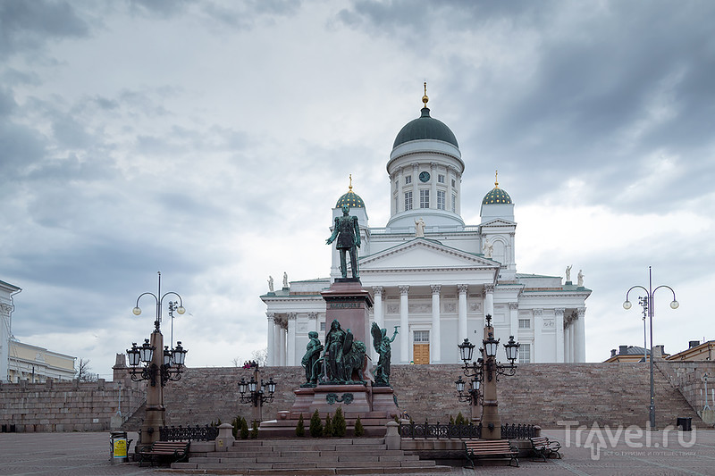 Хмурый весенний Хельсинки / Фото из Финляндии