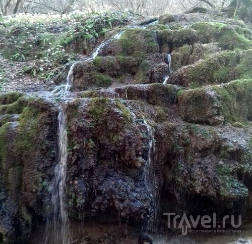 Травертиновый источник в Ставрополе / Россия