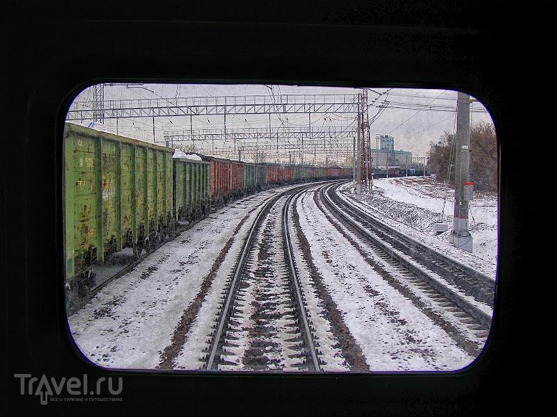 Поезд по России / Россия