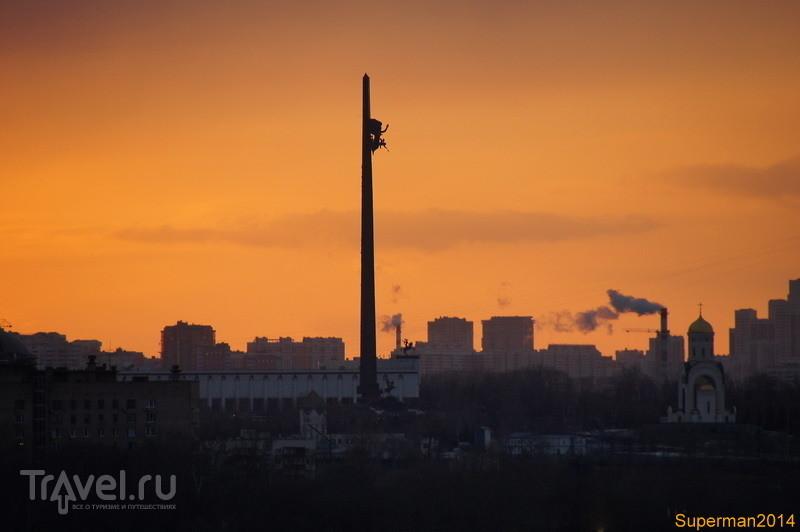 Виды сверху: Новодевичий и округа / Россия