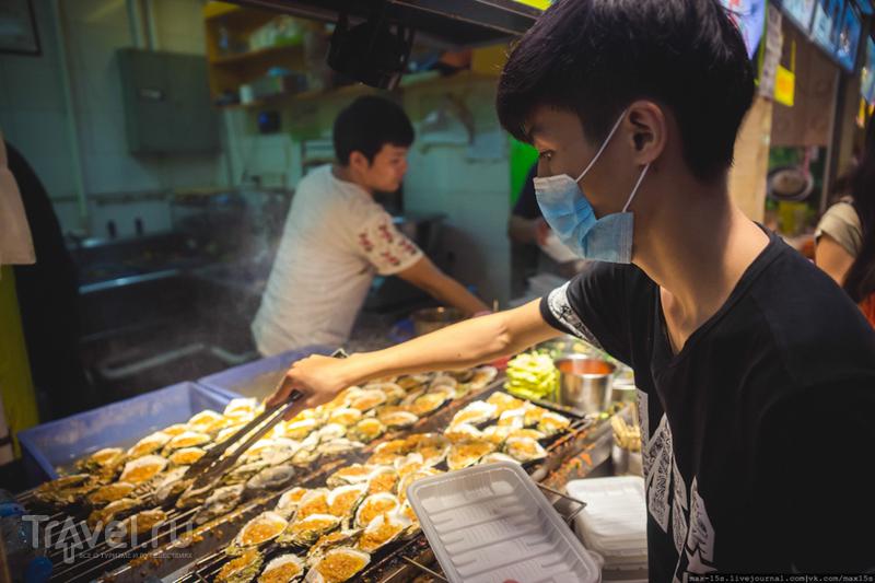 Китай, Шэньчжэнь: пешеходная улица и улица еды / Китай