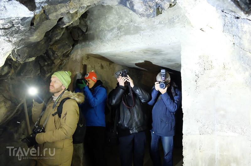 Подземный дождь рускеальских гор / Россия