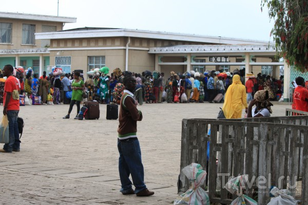 На поезде по Африке / Замбия