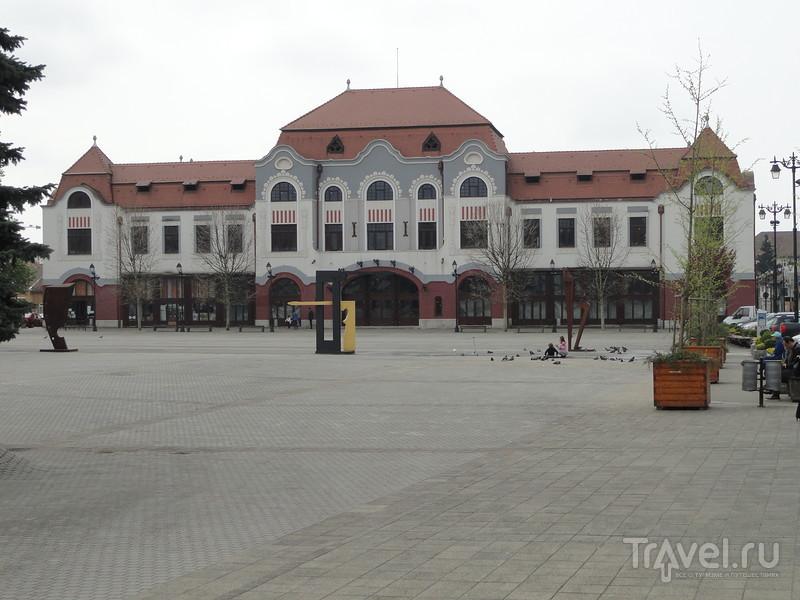 Бая-Маре - областной центр Румынии в карпатских горах / Румыния