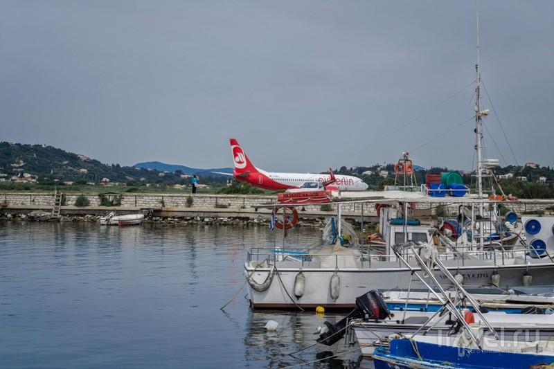 Корфу - рай для споттинга и остров Понтиоконисси / Фото из Греции