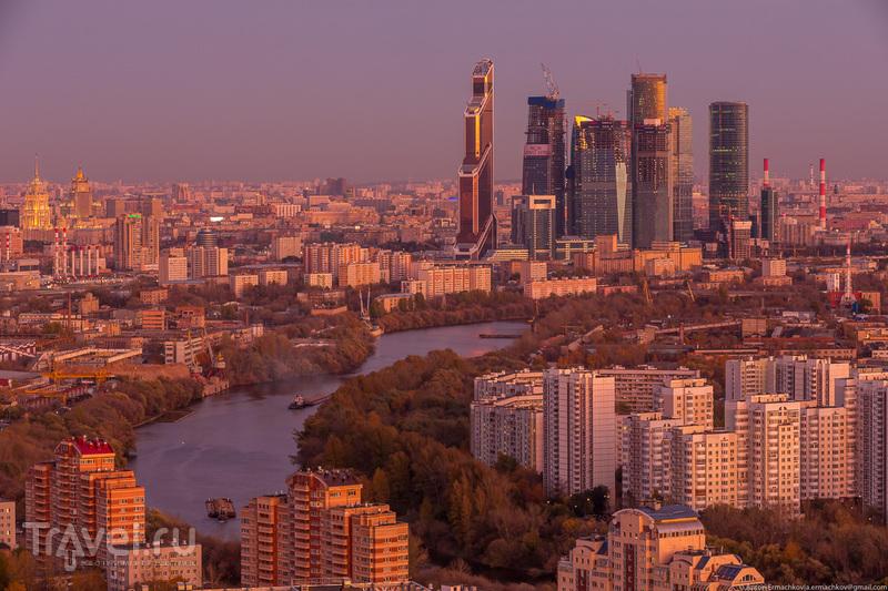 Городской пейзаж. Москва осенняя / Фото из России