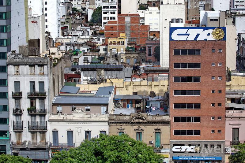 Буэнос Айрес, вид города сверху / Фото из Аргентины
