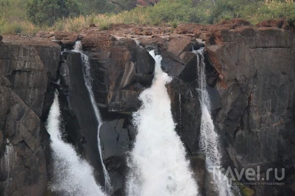 Замбия, Ливингстон, водопад Виктория / Замбия