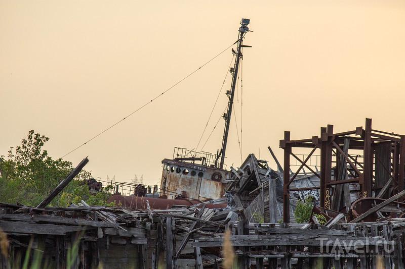 Нью-Йорк, Нью-Йорк. Кладбище погибших кораблей / США