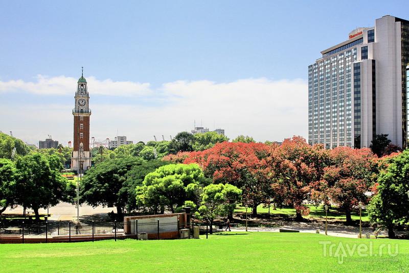 Площадь и парк Сан-Мартина / Фото из Аргентины