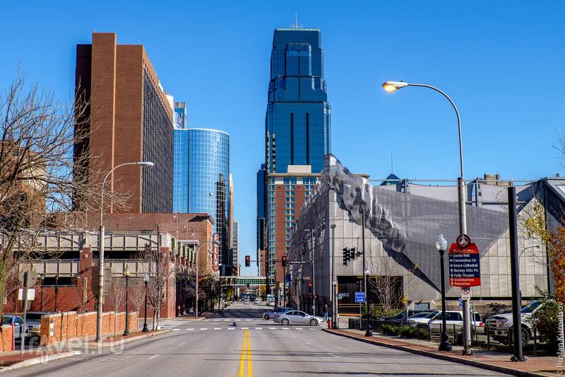 Канзас-сити, Соляная шахта Стратака, Денвер в Колорадо и Бойсе в Айдахо / Фото из США