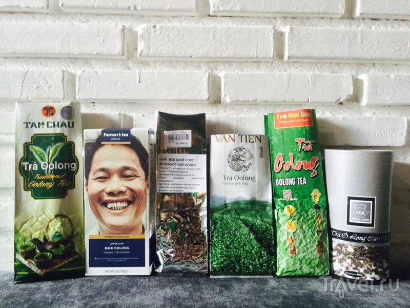 Независимая экспертиза популярных вьетнамских чаёв. 6 улунов. 5 мнений