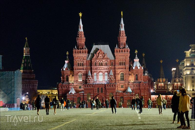 По вечернему центру Москвы / Фото из России