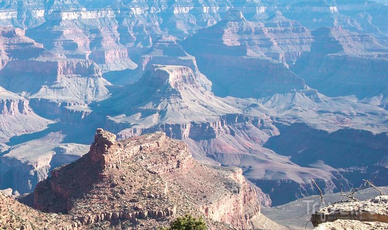 Большой Каньон от рассвета до заката. Вниз к реке Колорадо / Фото из США