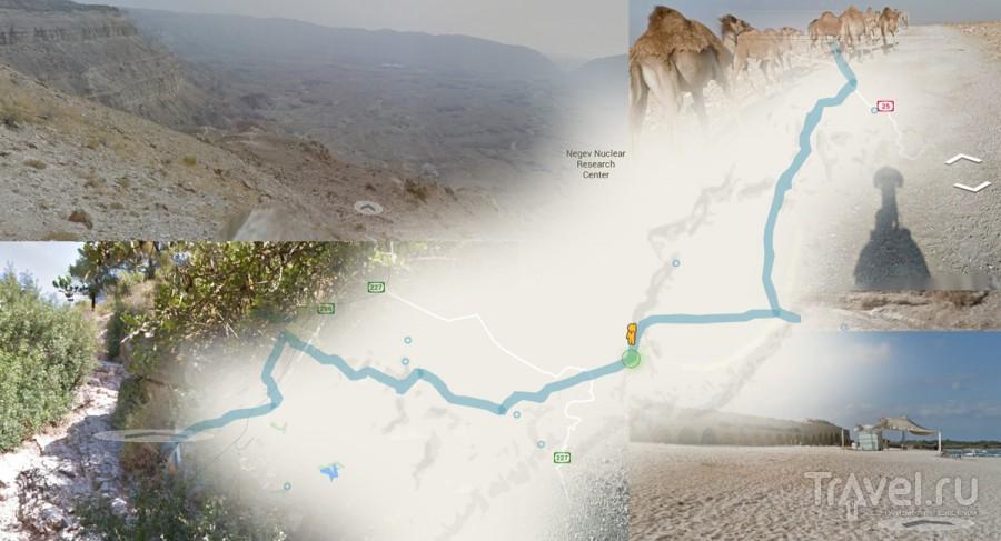 Израильская национальная тропа на GoogleStreet