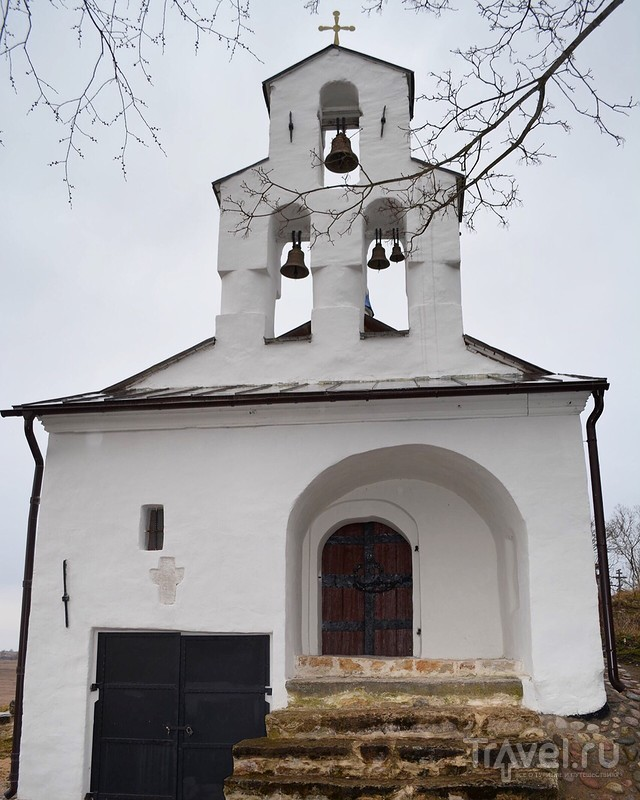 Изборск, Труворово городище / Россия