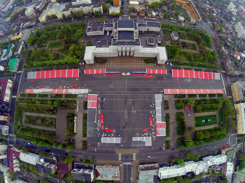 Самая большая площадь в Европе / Фото из России