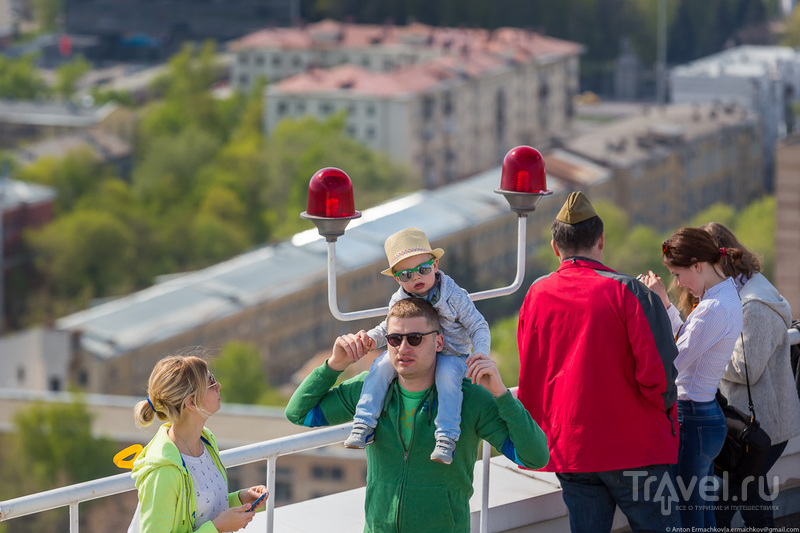 Воздушная часть Парада Победы 9 мая 2015 года / Фото из России