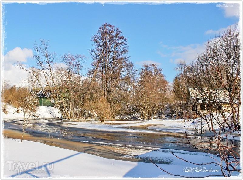 Река Лава и ее окрестности / Фото из России