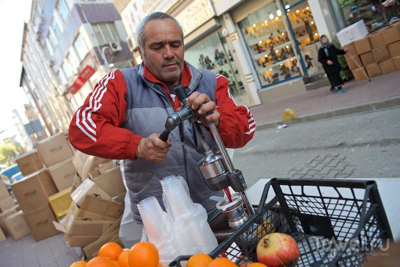 Немного уличной еды / Турция