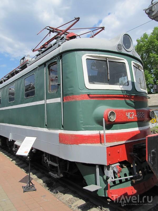 Музей паровозов в Москве / Россия