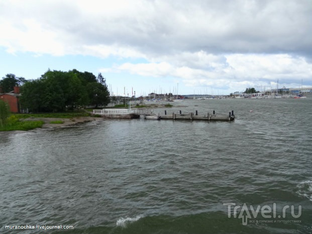 Под грозовыми облаками на волнах Финского залива... / Финляндия