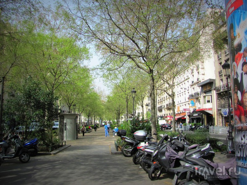 Париж. Монмартр и окрестности / Франция