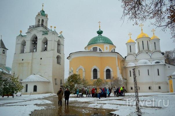 Ярославль - город храмов и церквей. Путешествие из осени в зиму / Россия