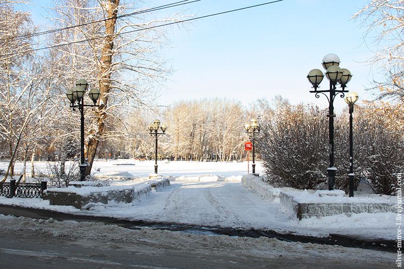 Зимний Томск. Окрестности Белого озера / Россия
