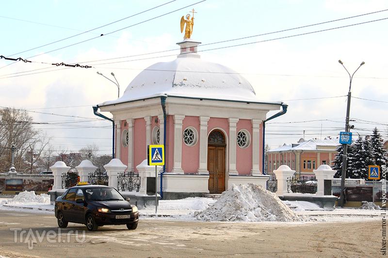 Зимний Томск. Октябрьский Взвоз - проспект Ленина / Россия