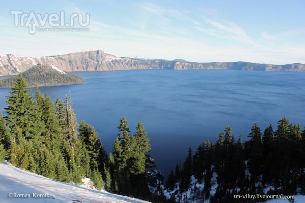 Что посмотреть в Орегоне: Национальный парк Crater Lake / Фото из США