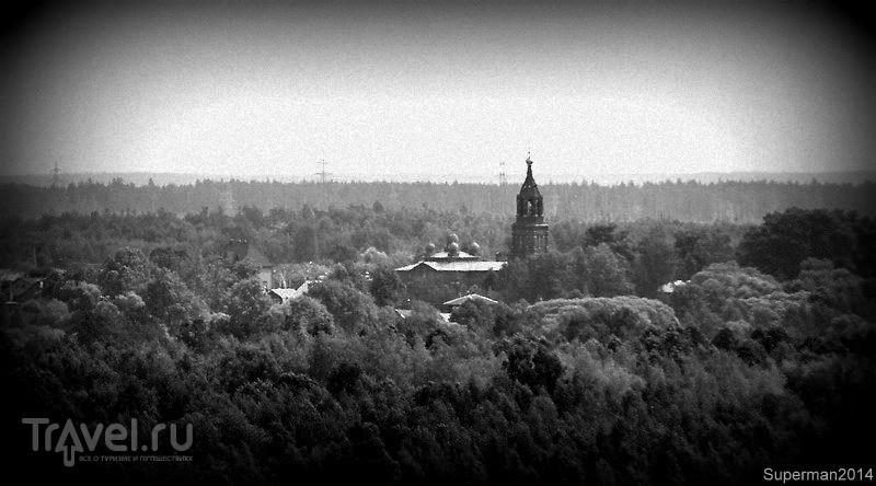 Кудыкина гора - виды с колокольни Храма Рождества Пресвятой Богородицы / Россия