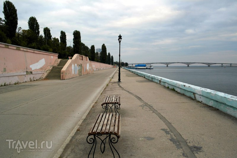 """Саратов - Парк """"Липки"""" и набережная реки Волга / Россия"""
