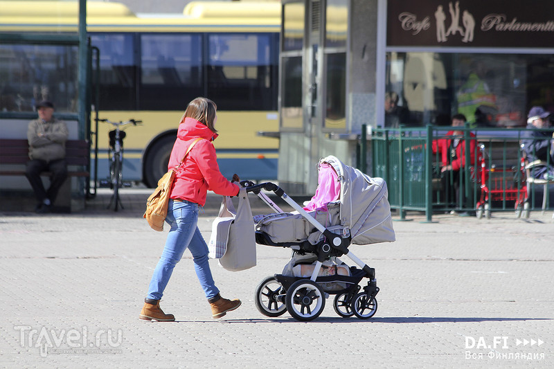 Пори - обычный финский город / Фото из Финляндии