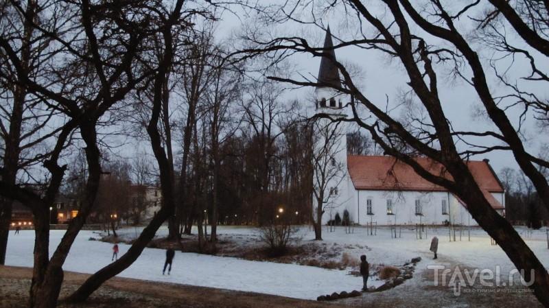 Холодная кочевка в Сигулду / Латвия