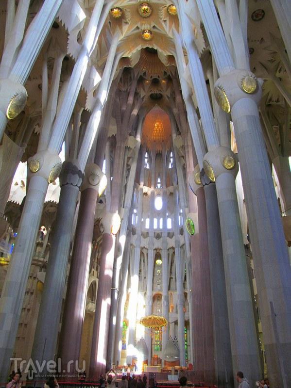 Барселона. Саграда Фамилия / Испания