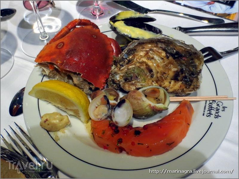"""""""Шведский стол"""" на французский лад:  ресторан """"Les Grands Buffets"""" в Нарбонне / Франция"""
