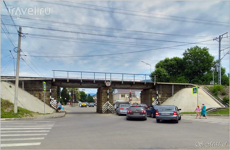 Лазаревское. Железная дорога / Фото из России