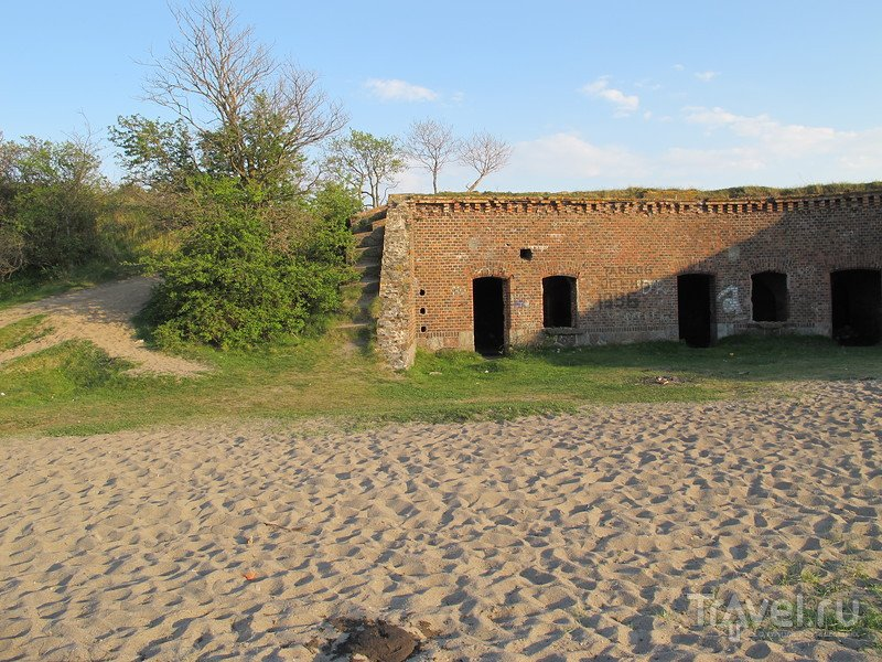 Балтийская коса, форт Западный / Фото из России