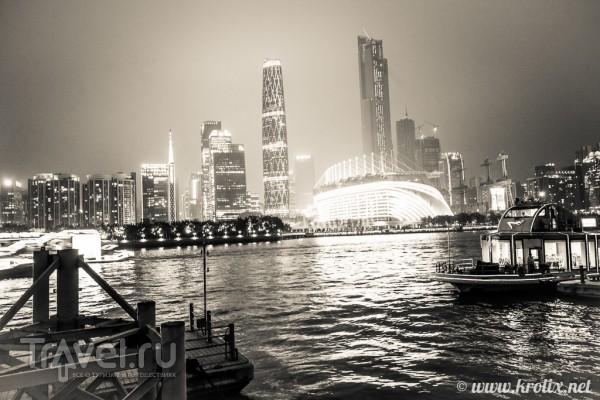 Ночной круиз по Жемчужной реке и Кантонская башня / Китай