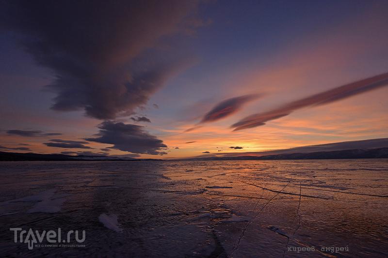 История одного заката на Байкале / Фото из России