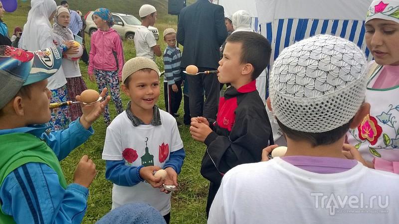 Мусульманский сабантуй. Кукморский район. Деревня Оркеш / Фото из России