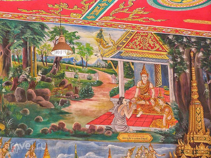 Лаос. Вьентьян. Храм Тяжелого Будды / Лаос