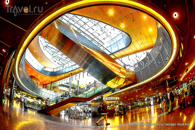 Аэропорт Цюрих / Швейцария
