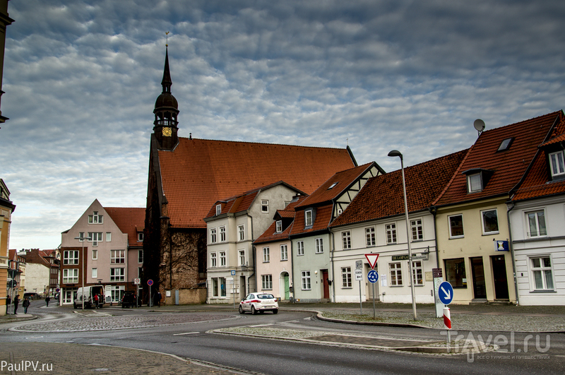 Штральзунд, Германия. Декабрь 2015 / Фото из Германии