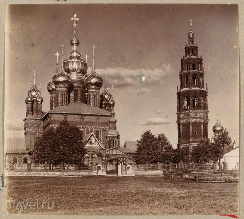 Церковь Иоанна Предтечи в Толчкове, Ярославль / Россия
