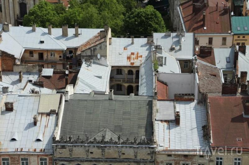 Крышами Львова. Крыши для влюбленных / Украина