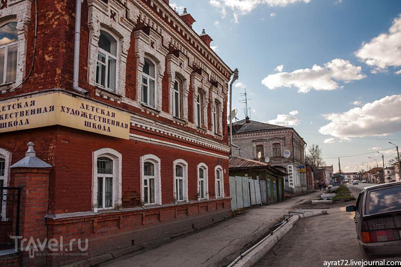 Ирбит купеческий. Прогулка по Советской / Россия