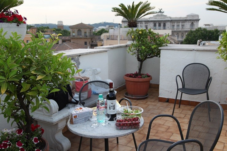 Крыши Рима / Италия