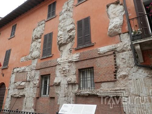 Замок в Брешиа и немного по городу / Италия